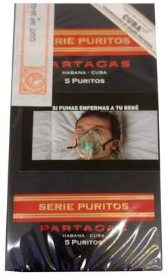Habano Partagas puritos 5