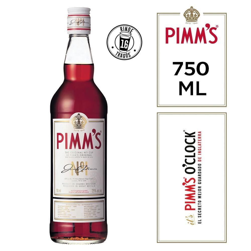 Pimm's bitter x750cc