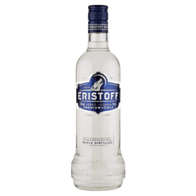 Vodka eristoff x700cc