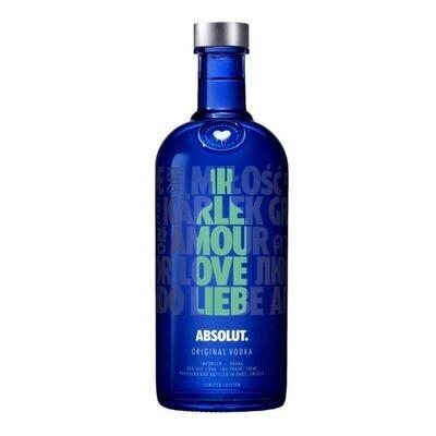 Vodka absolut drop love x750cc