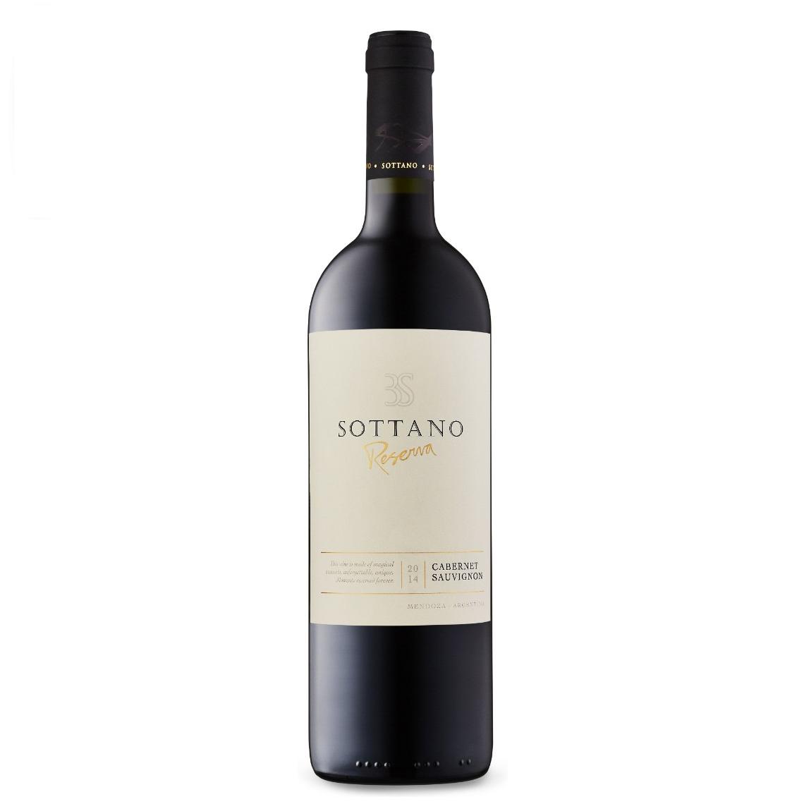Vino Sottano reserva cabernet x750cc