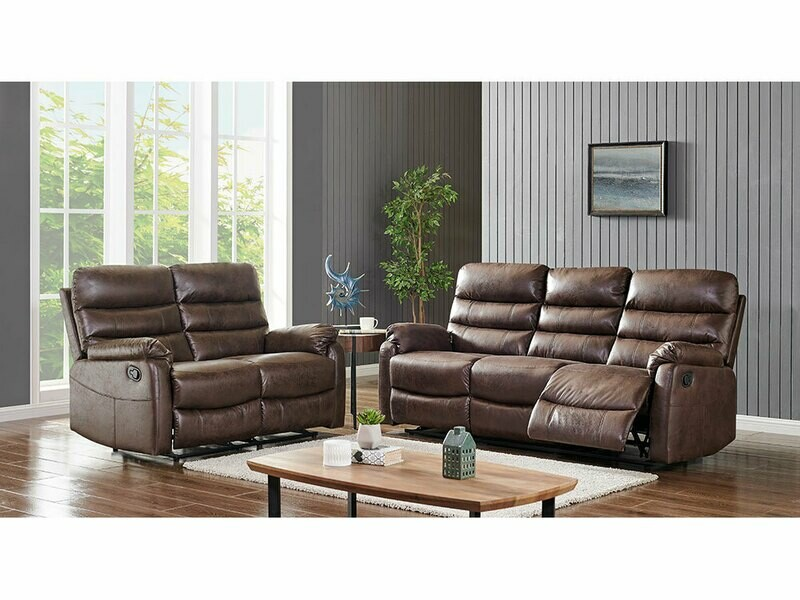 Madison 3-2 seater recliner sofas