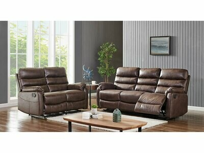Madison 3-2 seater recliner sofas