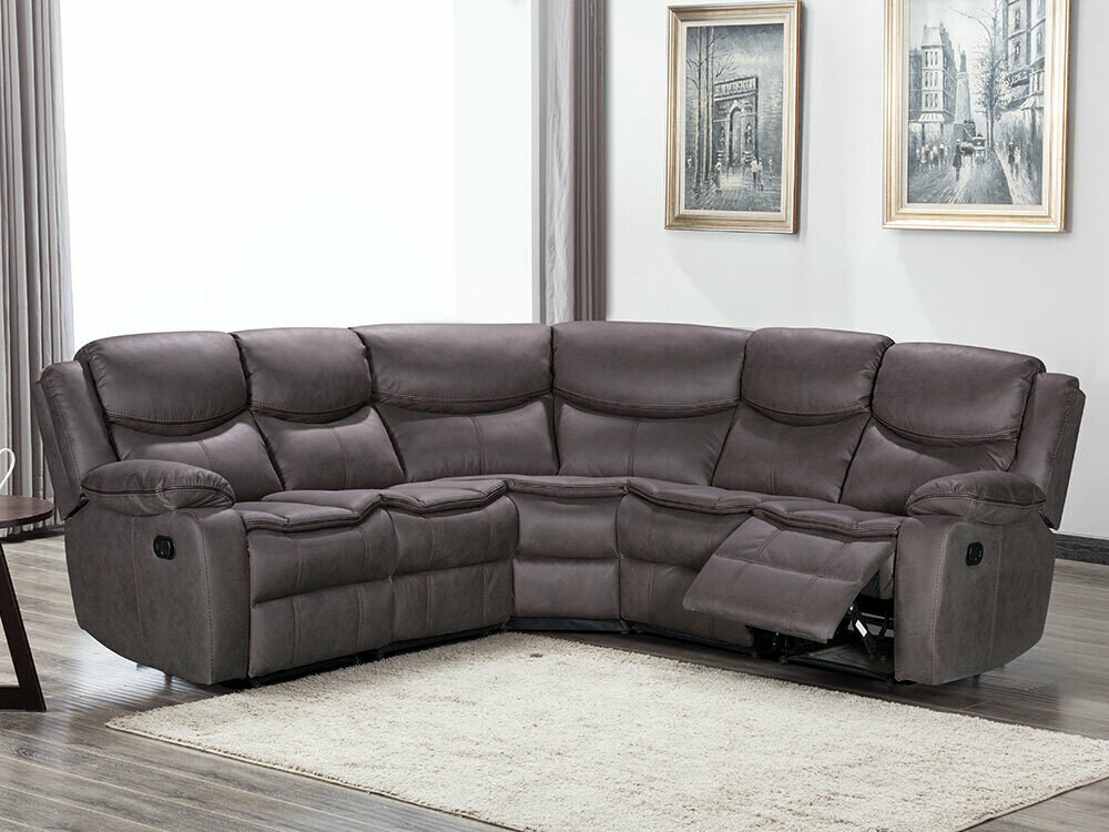 Vienna corner recliner sofa