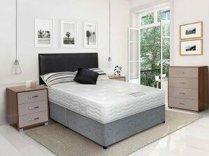 Elegance Luxury divan set incl base headboard and mattress