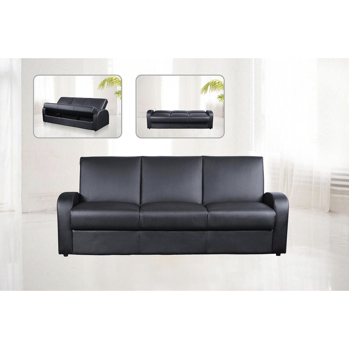 Kimberly sofa bed (with storage)