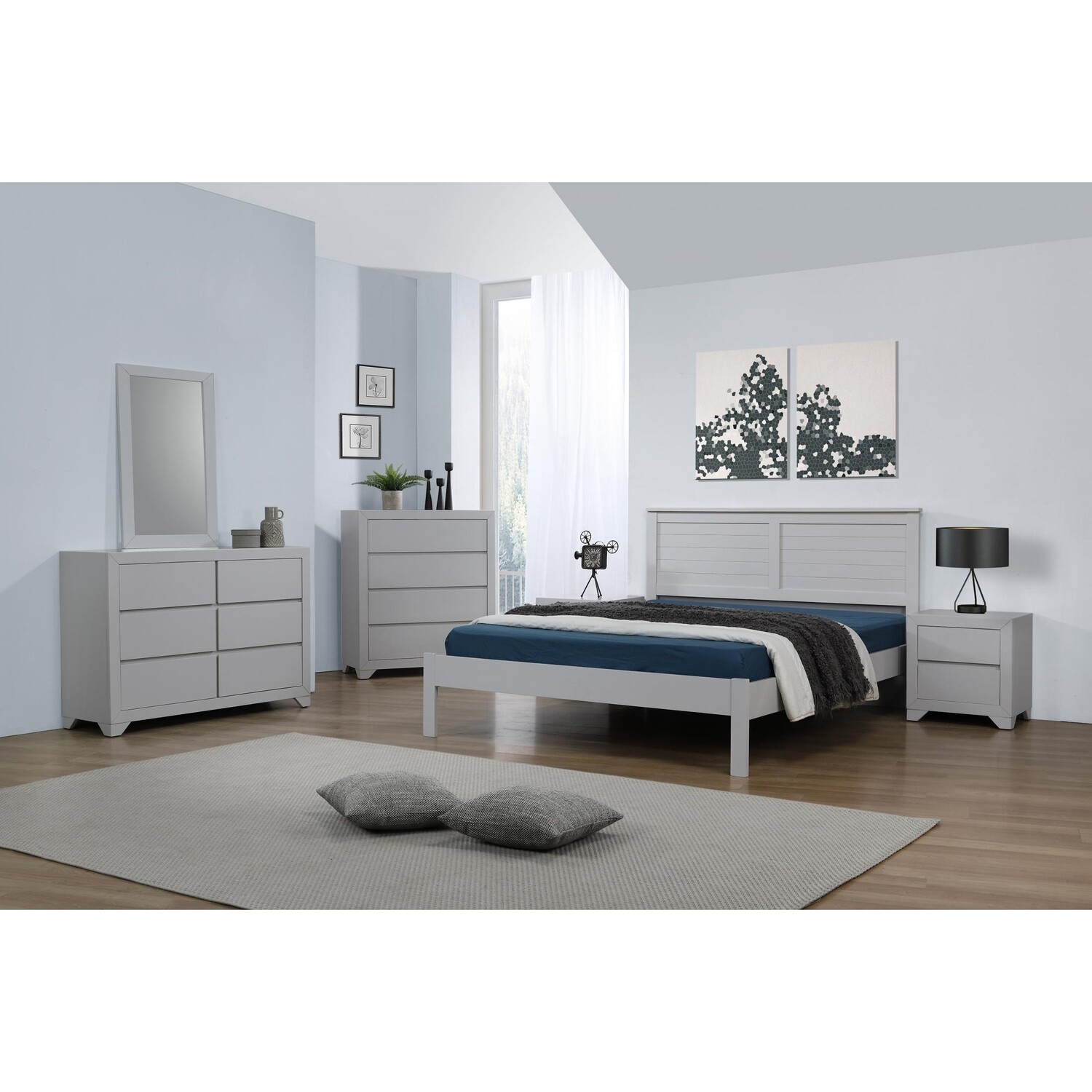 Wilmot double bed