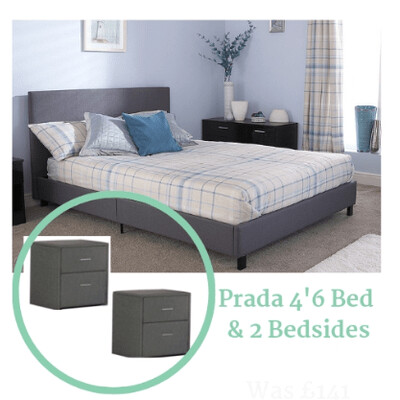 Prada double bed package