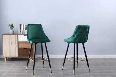 Tuscany bar stool (set of 2) green