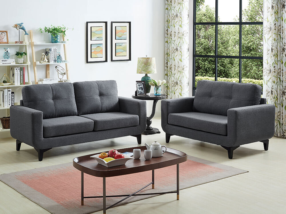 Diana 3-2 Seater Charcoal