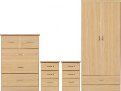 Nevada bedroom set oak