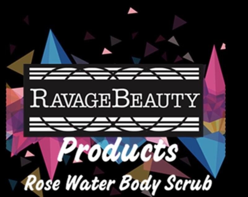 Rose Water Body Scrub
