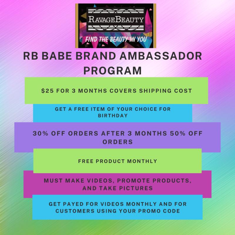 RB BABE Brand Ambassador Program