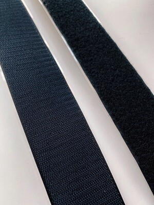 Rubber Adhesive Hook and Loop - 25 yard roll