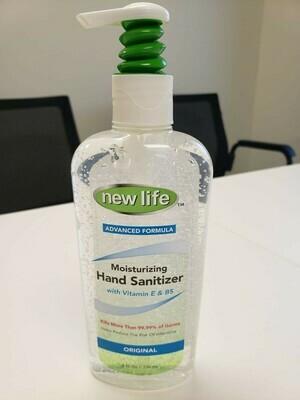 (Case of 24) 8 oz Hand Sanitizer Gel