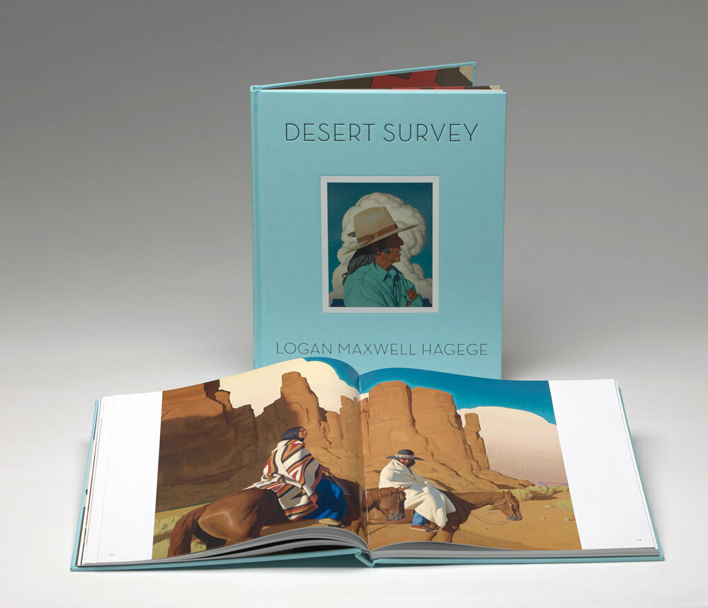 Desert Survey by Logan Maxwell Hagege