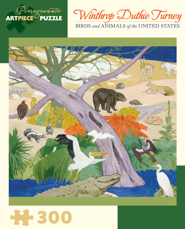 Birds and Animals of the United States Winthrop Duthie Turney Puzzle
