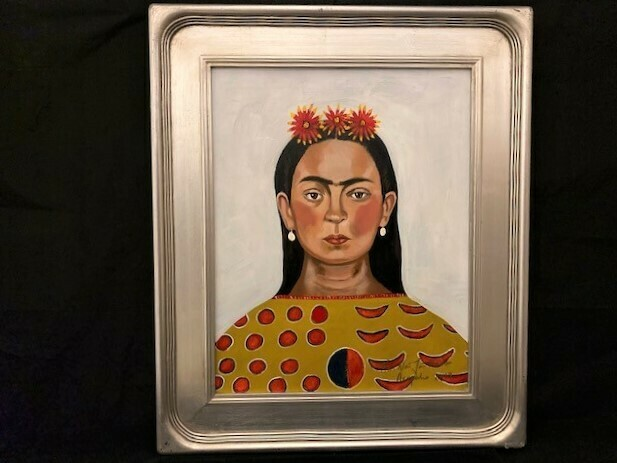 NDN Frida Original Artwork Brent Learned