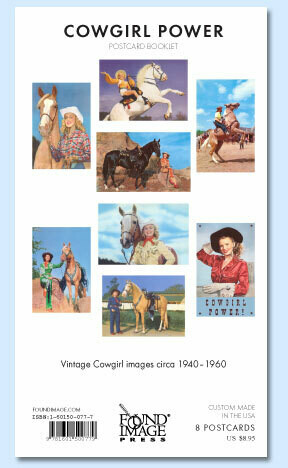 Cowgirl Power Postcard Booklet