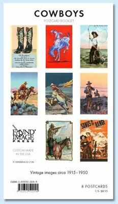 Cowboys Postcard Booklet