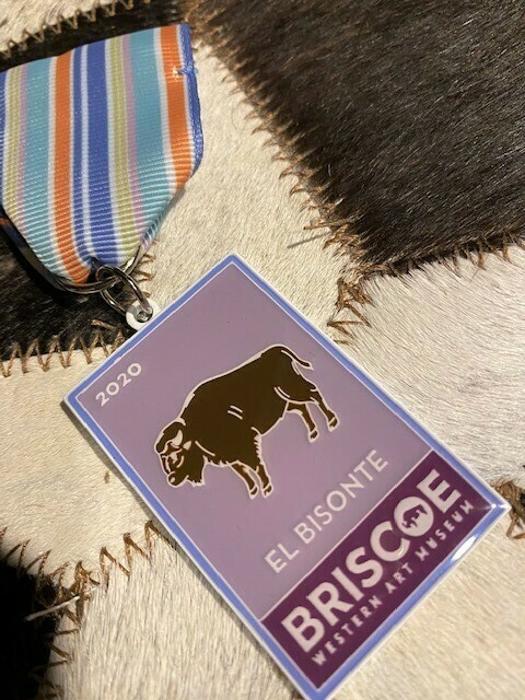 2020 Briscoe Fiesta Medal