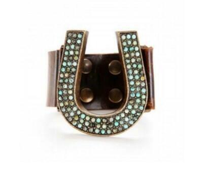 Rebel Designs Beaded Horseshoe Bracelet