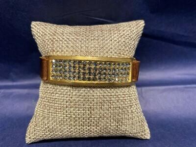Rebel Designs Gold Plate Bracelet