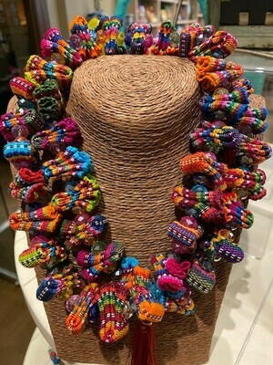 Nadia Collar Set Multicolored