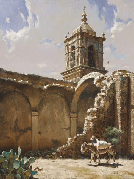 The Ruins of San Jose, 1875 by George Hallmark