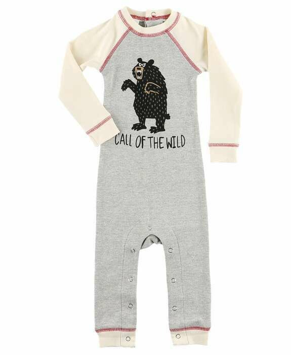 Call of the Wild/Moose Fair Isle Union Suits 12 months Bundle
