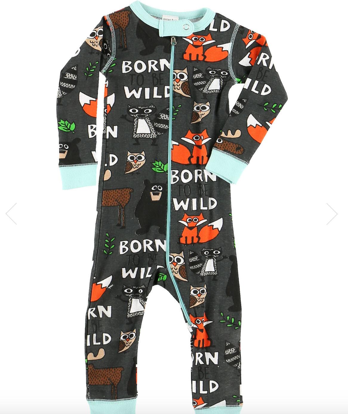 Born Wild and Happy Camper 3 Piece 12months Bundle