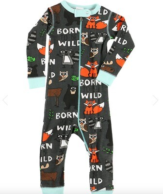 Born Wild and Happy Camper 3 Piece 12months Bundle