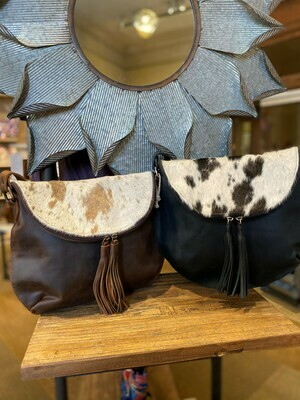 Texas Made Luna Cowhide and Leather Bags
