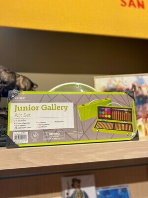 Junior Gallery Art Set Lime Green