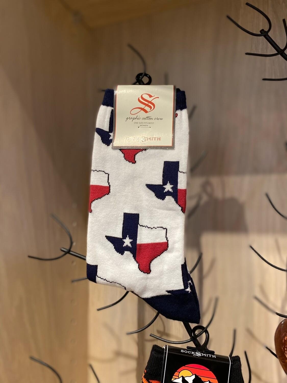 Texas White Women's Socks