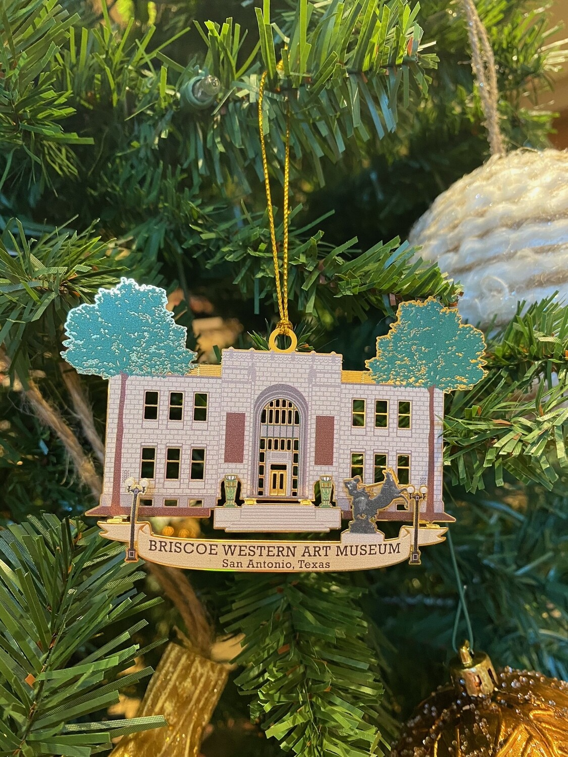 Briscoe Metal Ornament