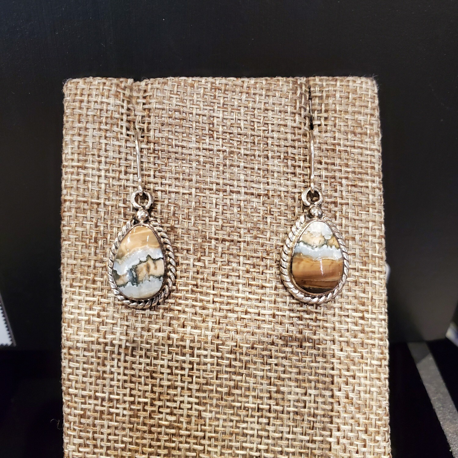 Petit Wooly Mammoth Tooth Earrings