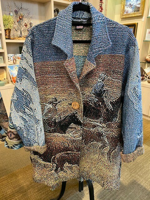 Cotton Woven Jackets Painted Pony