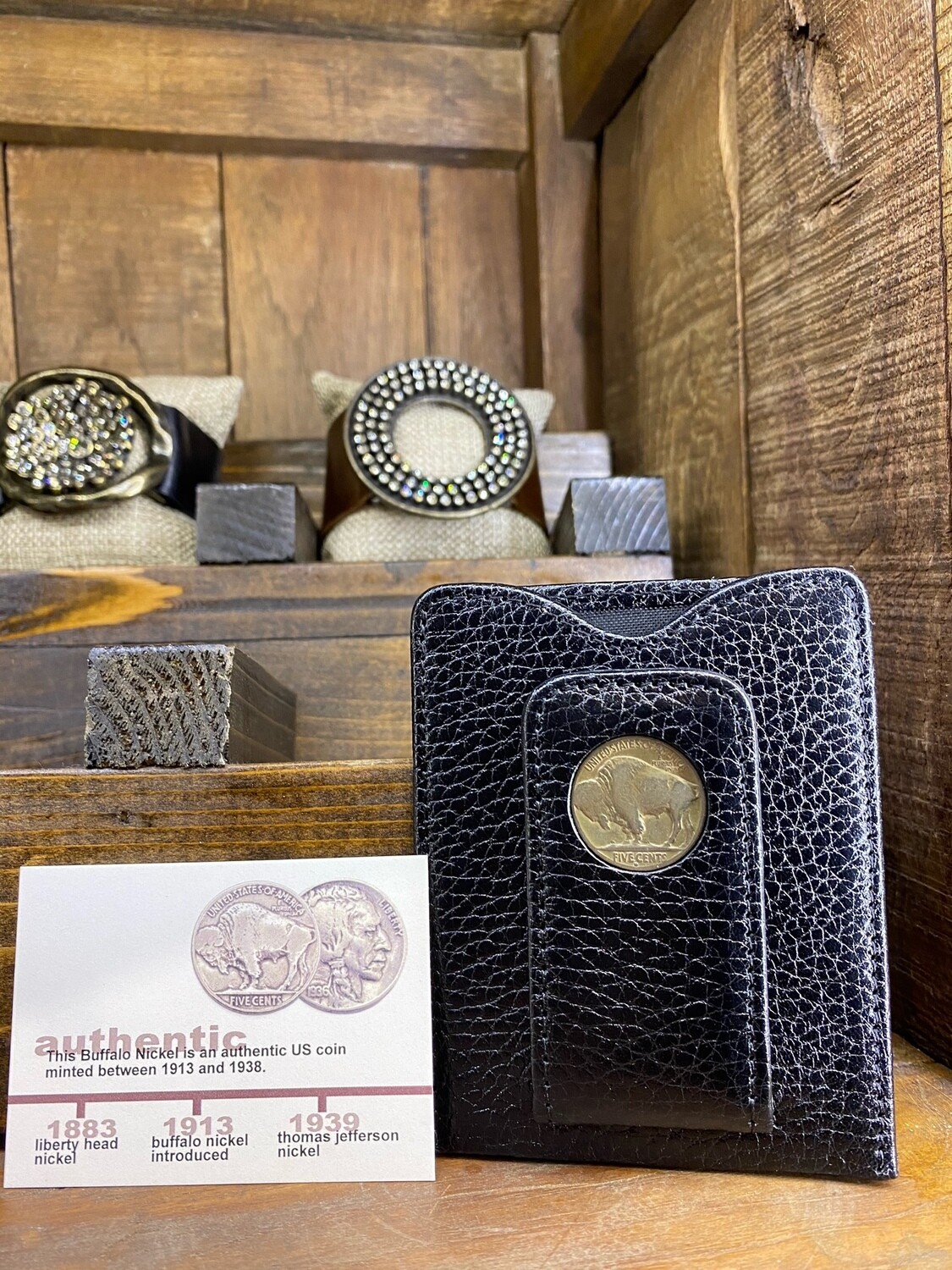 Buffalo Nickle Money Clip Wallet
