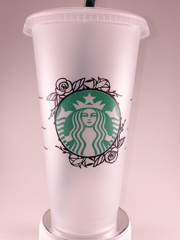 Starbucks Floral Wreath