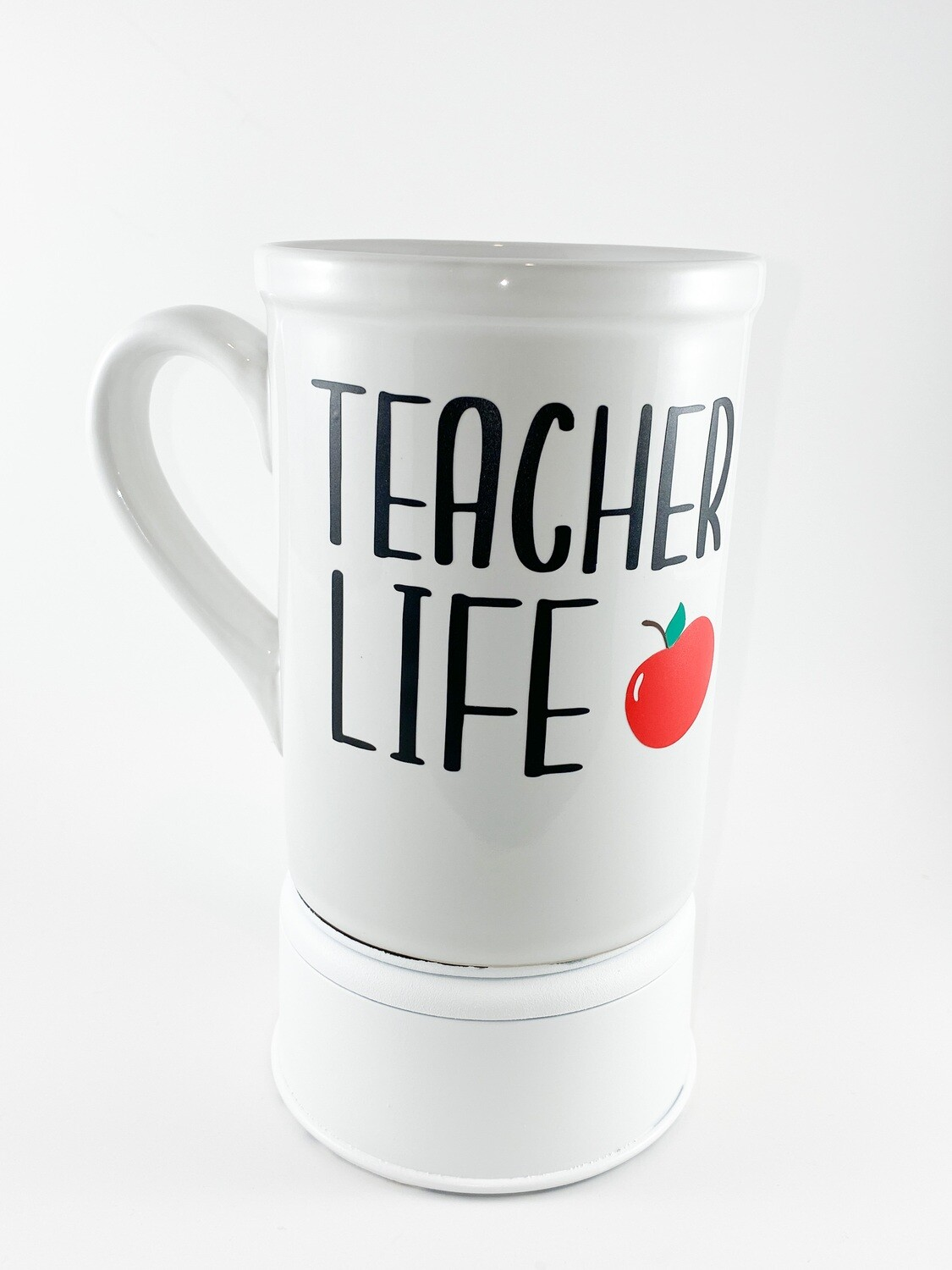 "Coffee Cup 16 oz ""Teacher Life"""
