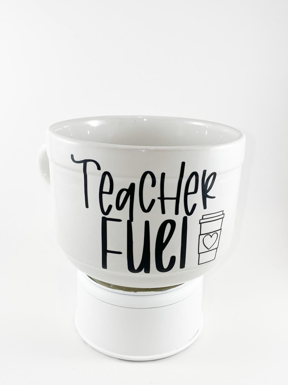 "Coffee Cup 22 oz ""Teacher Fuel"""