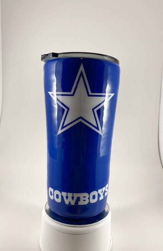 Custom Cowboys 30 oz Tumbler