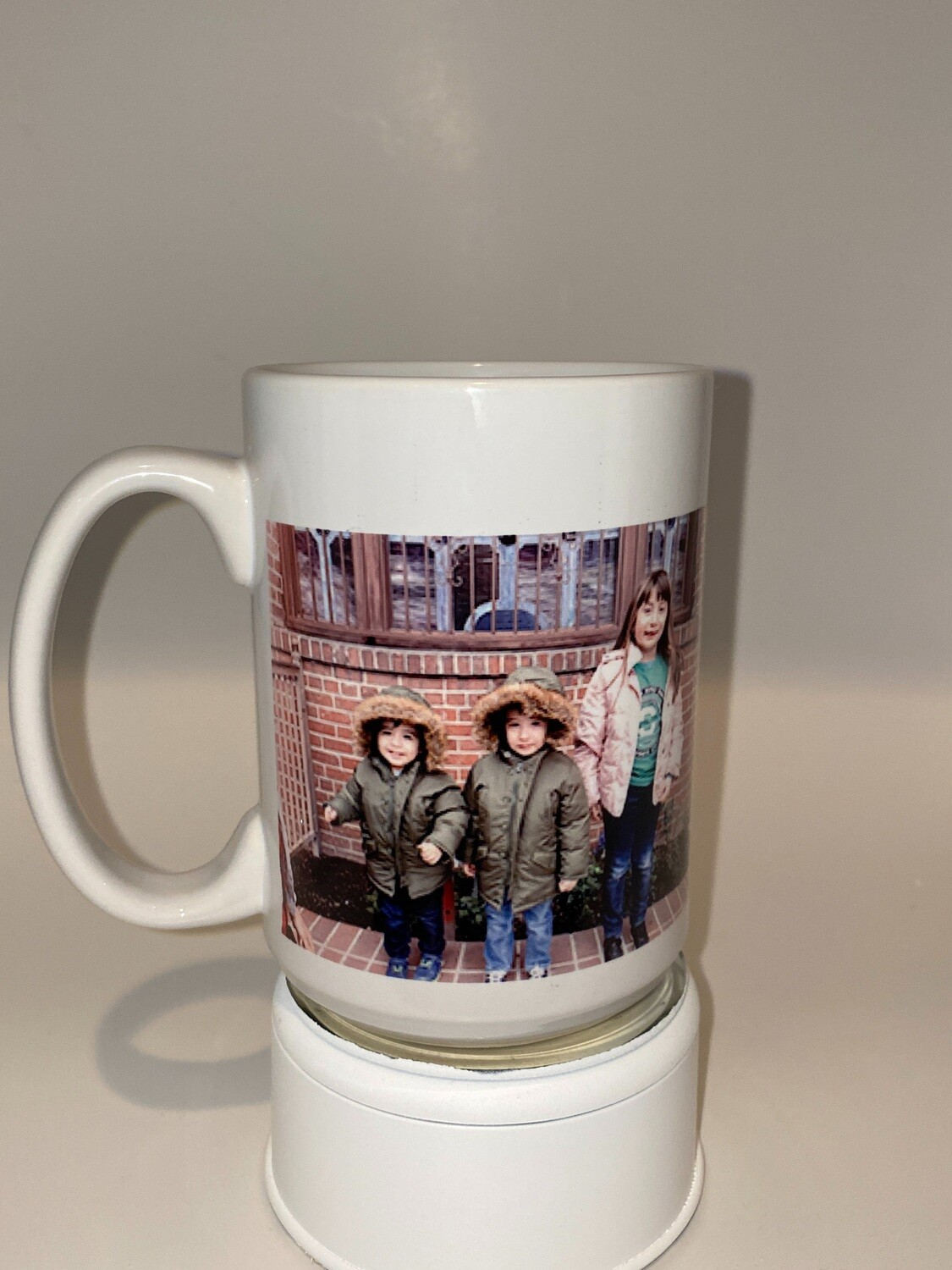 Coffee Cup 15 oz with your picture