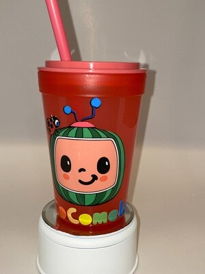 Kids Plastic 13.5 oz Cocomelon cup