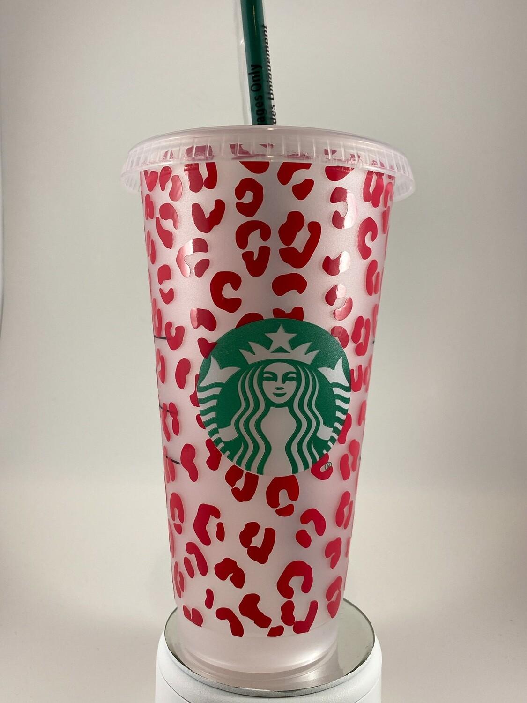 Starbucks Small Leopard Print Cup