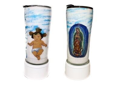 Custom Baby Jesus & Virgin Mary 20 oz  Tumbler