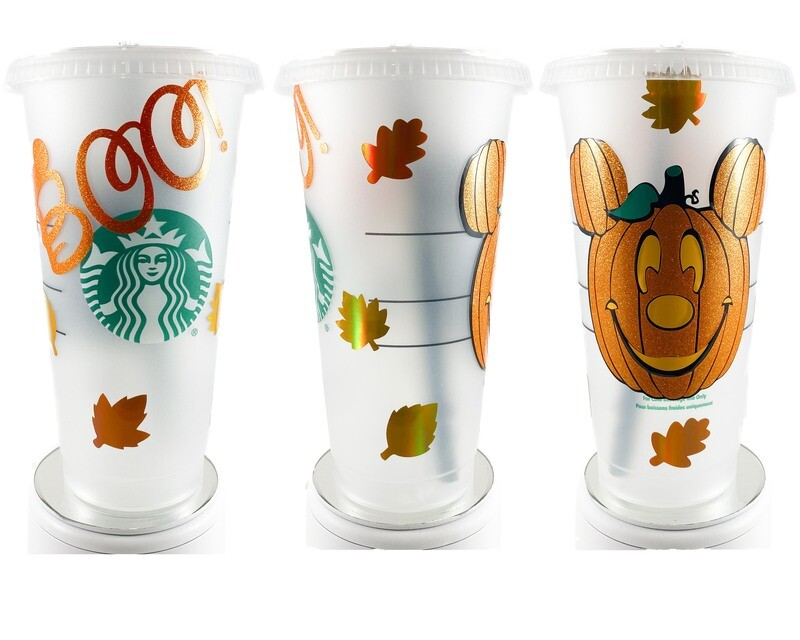 Starbucks Halloween Mouse Cup