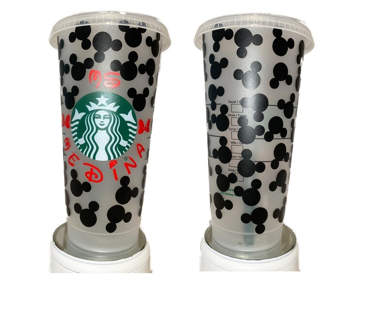 Starbucks All Over Mouse Cup