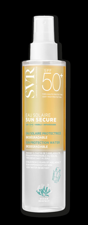 SUN SECURE EAU SOLAIRE SPF50+ +dovana!